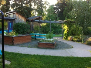 Therapy Garden at Fircrest