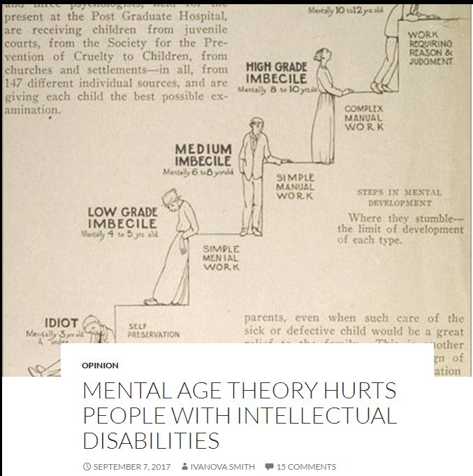 Mental age theory