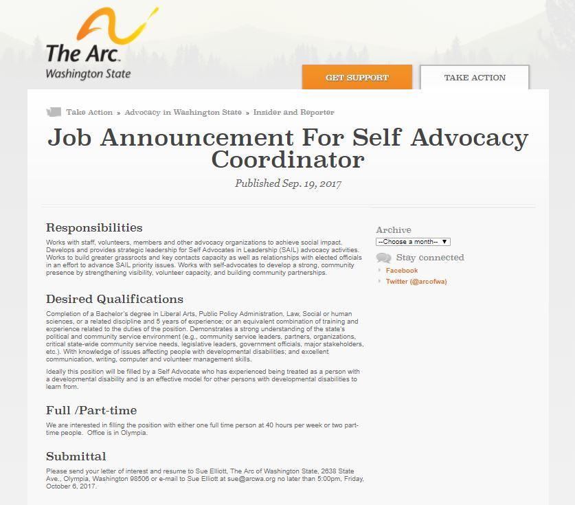 Sail Coordinator