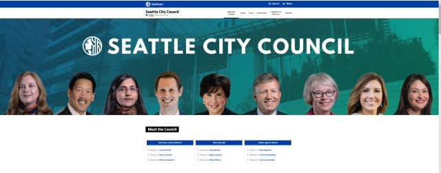 Seattle City Council May 2018