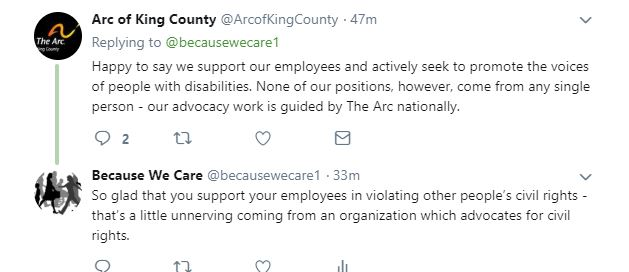 @arcofkingcounty reply