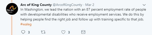 87 percent working in WA