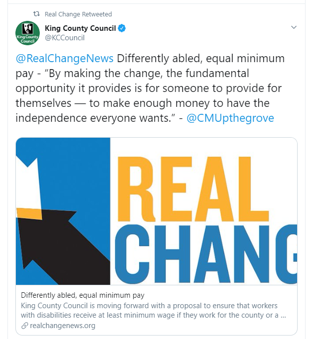 real change news tweet CMUpthegrove quote